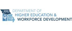 Missouri Department of Higher Education & Workforce Development logo
